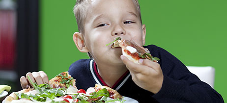 Come enjoy a pizza with the family at Galaxy Fun Park in Raleigh, NC.