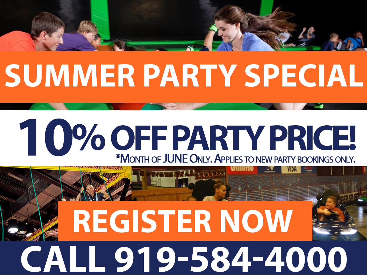 Birthday Party Summer SPecial