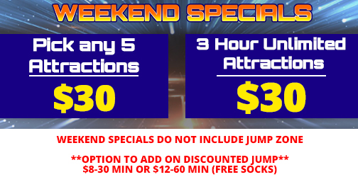 Weekend-day specials