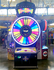 Spin N' Win is our latest arcade game that lets you win prizes in-between enjoying our other attractions.